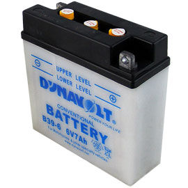 6 Volt Motorcycle Battery