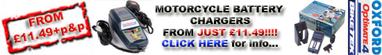 Motorbike Battery Chargers
