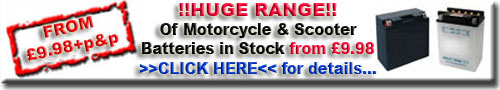 Buy Motorcycle Batteries